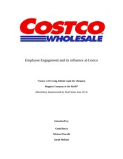 Costco and Employee Engagement