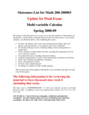 Outcomes_List_for_Math_200_Final_Exam