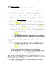 ITN260-netsec-midterm-exam1-v42 doc - Name Dustin Loescher