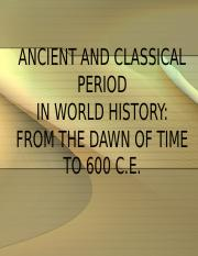 1 Review Foundations to 500 CE Period.ppt