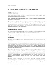 Audit Practice Manual-ACNABIN Chartered Accountant