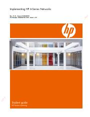 Implementing+HP+A-Series+Networks+-+Student+Guide+1+Rev+11.21Implementing+HP+A-Series+Networks+-+Stu