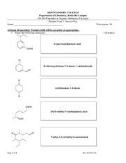 naming of aldehydes and ketones answer key department of chemistry rockville campus ch 204. Black Bedroom Furniture Sets. Home Design Ideas