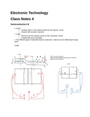 Electronic Technology notes 4