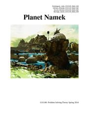 Project Report 2 - Namek
