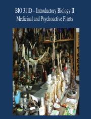 Medicinal and Psychoactive Plants for Posting