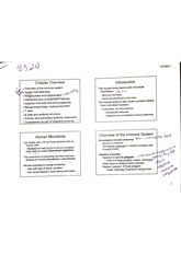 chap 23-24 immune system - notes