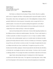 Ethics Essay Assignment