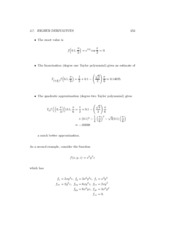 Engineering Calculus Notes 365