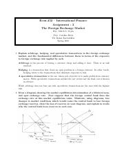 econ international finance usc page course hero 5 pages econ 452 assignment 2 solutions