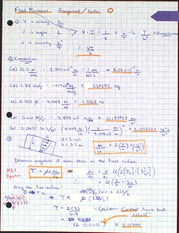 Fluid Mechanics Assigment 1
