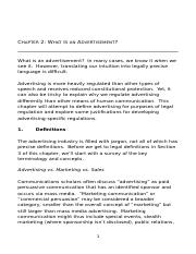 Chapter 2 What is An Advertisement DOC kim.doc