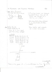 MATH 111 Ch. 1 Lecture Notes-Funtions