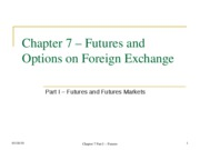 Chap07 Part I Futures