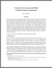 #2 2014 (24)Corporate governance and ethics of Islamic Finance Instituitions