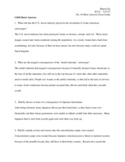 Ch10 Short Answers