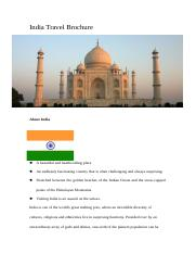 India Travel Brochure.doc
