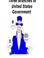 Three Branches of United States Government.ppt