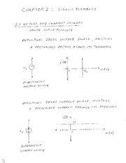Study Guide on Circuit Elements