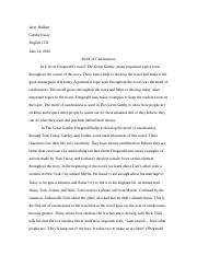 Gatsby Essay Last essay of english 11H.docx