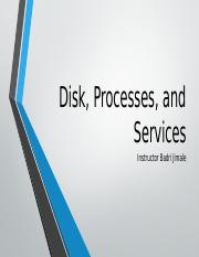 Lesson_6_Disk, Processes, and Services