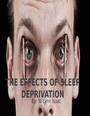 The Effects Of Sleep Deprivation.pptx