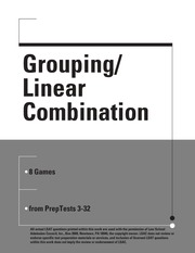 Grouping Linear Combination