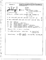 599_Mechanics Homework Mechanics of Materials Solution