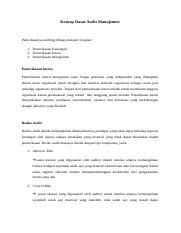 Memenuhi Kreteria Yang Cukup Relevan Dan Memadai Serta Praktis Zamzami Faiz Course Hero