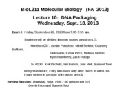 Lecture+10+DNA+Packaging+_FA+2013_+for+students