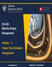 170414_Module_4_-_Project_Time_(Schedule)_Mgmt