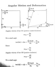 Angular Motion and Deformation