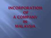 T2_INCORPORATION OF A COMPANY