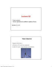Lecture Notes for Sections 2.1-2.4