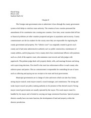 POLS 1101 Chapter 8 essay