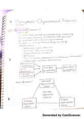 chapter 1 managment and organizational behavior
