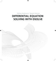 Wolfram Mathematica - DIFFERENTIAL EQUATION SOLVING WITH DSOLVE