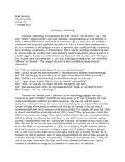 Power of the Word Essay