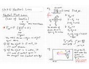 Newton's Law Notes