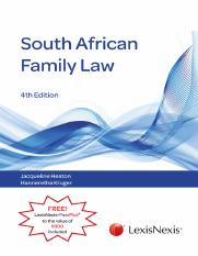 South African Family Law [4th Edition] .pdf.pdf