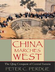 China Marches West The Qing Conquest of Central Eurasia.pdf