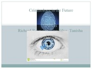 Criminology in the Future