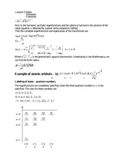 Lecture 5 Notes Harmonic Functions