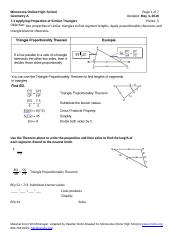 7.4 Applying properties of similar triangles.docx