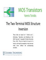 2.4 The Two-Terminal MOS Structure – Inversion.pdf