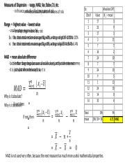Applied Statistics 1  - 2 Measures of Dispersion.pptx