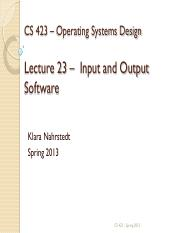 output concepts part 2