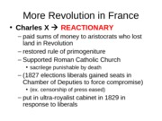 Chapter 20-More Revolution in France