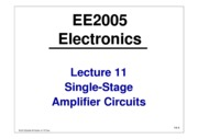 EE2005-Lecture11-Amplifier-Circuits