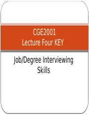Lecture 4 The Interview  Key.pptx